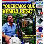 Sport: Chiediamo che venga Cesc