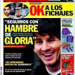 """Sport: Messi: """"Siamo affamati di gloria"""""""