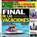 Sport: Messi eliminato ai calci di rigore