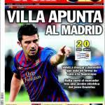Sport: Villa pensa già al Madrid