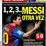 Sport, 1,2,3 Messi: di nuovo