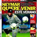 Sport: Barcellona, Neymar vuole i blaugrana la prossima estate