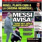 Sport, Messi avvisa: Sarebbe molto difficile proseguire senza Pep