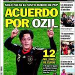 Sport, accordo per Ozil