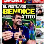 Sport: lo spogliatoio incorona Tito