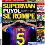 Sport: Superman Puyol si rompe