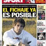 Sport: Strategia comune di Javi Martinez e il Barça