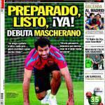 Sport: Lista preparata, debutta Mascherano