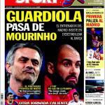 Sport: Mourinho attacca Guardiola