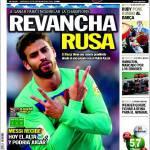 Sport: Rivincita russa