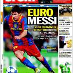 Sport: Euro Messi