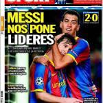 Sport: Messi sempre più leader