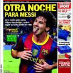 Sport: Un'altra notte per Messi