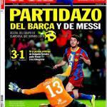 Sport: Partitona del Barça e di Messi