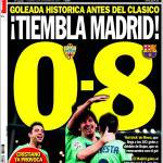 Sport: Trema Madrid! 0-8