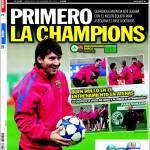 Sport: Prima la Champions