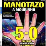 Sport: Schiaffo a Mourinho
