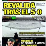 "Sport: Mourinho non digerisce la ""manita"" del Camp Nou"