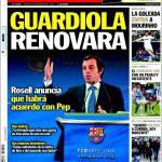Sport: Guardiola rinnoverà