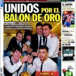 Sport: Uniti per il Pallone d'Oro