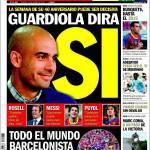 Sport: Guardiola dirà si