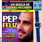 Sport: Pep felice