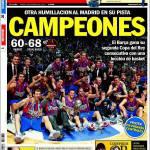 Sport: Il Real Madrid si aggrappa alla Liga in 10