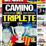 Sport: Cammino del Triplete