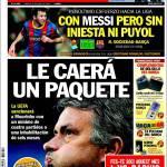 Sport: La Uefa sanzionerà Mourinho