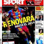 Sport: Rinnoverà fino al 2014