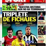 Sport: Tripletta di acquisti