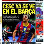 Sport: Cesc già si vede con il Barcellona