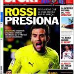 Sport: Pressione Rossi