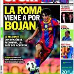 Sport: La Roma viene per Bojan
