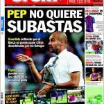 Sport: Pep non vuole fare aste