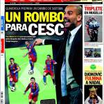 Sport: Un rombo per Cesc