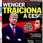 Sport: Wenger tradisce Cesc