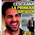 Sport: Cesc vince la prima battaglia
