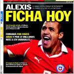 Sport: Alexis firma oggi