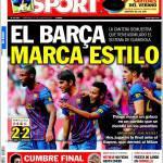 Sport: Il marchio del Barcellona