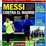 Sport: Messi contro il Real Madrid