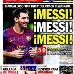 Sport: Messi, Messi, Messi