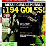 Sport: 194 gol!