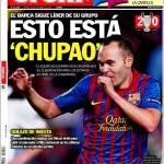 Sport: Golazo di Iniesta