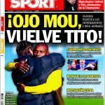 Sport: Occhio Mou, torna Tito
