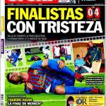Sport: Finalista con tristezza