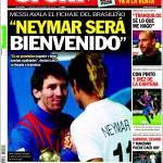 "Sport: ""Neymar sarà il benvenuto"""