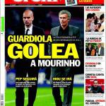 Sport: Guardiola ha battuto Mourinho