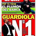 Sport: Guardiola N° 1