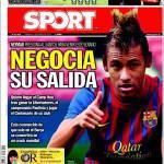 Sport: Negozia la sua uscita